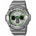 Ρολόι CASIO G-Shock Anadigi Grey Rubber Strap GA-200SH-8AER