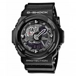 Ρολόι CASIO G-Shock Anadigi Black Rubber Strap GA-300-1AER