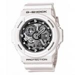 Ρολόι CASIO G-Shock Anadigi White Rubber Strap GA-300-7AER