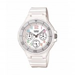 Ρολόι CASIO Collection White Rubber Strap ELM-LRW-250H-7BVEF