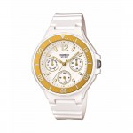 Ρολόι CASIO Collection White Rubber Strap LRW-250H-9A1VEF
