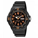 Ρολόι CASIO Collection Black Rubber Strap MRW-200H-4BVEF