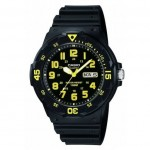 Ρολόι CASIO Collection Black Rubber Strap MRW-200H-9BVEF