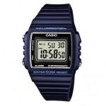 Ρολόι CASIO Collection Blue Rubber Strap W-215H-2AVEF