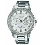 Ρολόι CASIO SHEEN Crystal Ladies Stainless Steel Bracelet SHE-3023D-7AER