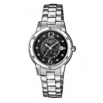 Ρολόι CASIO SHEEN Crystal Ladies Stainless Steel Bracelet SHE-4021D-1AEF