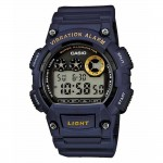 Ρολόι CASIO Collection Digital Blue Rubber Strap W-735H-2AVEF