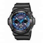 Ρολόι CASIO G-Shock Anadigi Black Rubber Strap GA-200SH-2AER