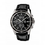 Ρολόι CASIO Edifice Black Leather Strap EFR-526L-1AVUEF