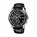 Ρολόι CASIO Edifice Black Leather Strap EFR-526L-1AVUEF