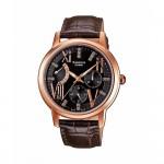 Ρολόι CASIO SHEEN Crystal Ladies Brown Leather Strap SHE-3024GL-5AEF