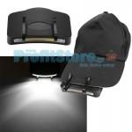 Φακός COB LED 200Lm με Κλίπ για Καπέλο