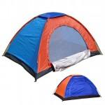 Σκηνή Camping 4 Ατόμων - 200x200x135cm με Σίτα και Παράθυρο