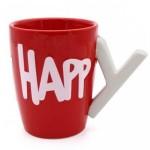 Κούπα Happy Birthday με λαβή Υ - Happy B-day Mug