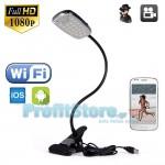 Κρυφή IP WiFi Ασύρματη Κάμερα Φωτιστικό LED με Ανίχνευση Κίνησης & Νυχτερινή Λήψη T99 ΟΕM