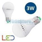 Λάμπα Οικονομίας LED 3W / Ε27 ψυχρό φως - LED Economy Lamp 3W