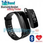 Ρολόι Smartwatch & Ακουστικό Bluetooth TalkBand 2 σε 1, Activity Tracker με Καταγραφή Καρδιακών Παλμών, Βημάτων & Ύπνου