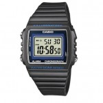 Ρολόι CASIO Collection Black Rubber Strap W-215H-8AVEF