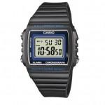 Ρολόι CASIO Collection Black Rubber Strap W-215H-8AVEF