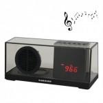 Φορητό Bluetooth Ηχείο Ρολόι USB/SD/AUX FM Radio Hands Free Multimedia Player - Sardine® Bluetooth Speaker