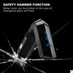 Πομπός Bluetooth USB/SD MP3 Player, AUX, Φορτιστής USB 2A Αυτοκινήτου & Σφυράκι Θραύσης Τζαμιών- Car FM Transmitter Hammer