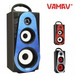 Φορητό Hχοσύστημα USB-SD Mp3 Multimedia Player Speaker - FM Radio VAMAV AP-82