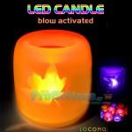 Κεράκι LED Μπαταρίας που Ανάβει και Τρεμοπαίζει σαν Αληθινό Κερί
