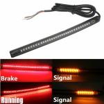 Εύκαμπτη Ταινία LED  Φώτα Πορείας, Φρένων & Φλας Μηχανής - Μοτοσυκλέτας 12V με 42 LED