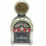 Φορητό Mp3 Player. FM Ράδιο με Ηχείο 1.5w & Αναλογικό Ρολόι MEIER M-U65