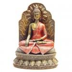 Βούδας Vintage σε Θρόνο για Καλή Υγεία και Δύναμη