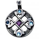 Φυλαχτό Celtic Cross Heart - Για Αληθινή και Δυνατή Φιλία