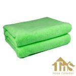 Πετσέτα Microfiber Μπάνιου-Παραλίας 160χ80εκ TNS Home Collection LARA Green