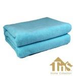 Πετσέτα Microfiber Μπάνιου-Παραλίας 160χ80εκ TNS Home Collection LARA Blue