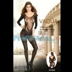 Ολόσωμο Sexy Καλσόν Σιθρού με Μανίκια και Εντυπωσιακό Σχέδιο στο Μπούστο 8969