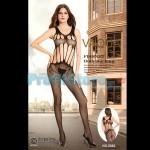 Ολόσωμο Sexy Καλσόν Δίχτυ με Σχέδια και Σκισίματα 8982