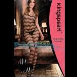 Ολόσωμο Sexy Καλσόν Δαντέλα με Εντυπωσιακά Σχέδια JT1013B - Sexy Lingerie