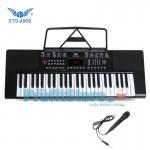 Αρμόνιο Synthesizer 49 Πλήκτρων με Αυτόματες Συγχορδίες & Καραόκε Mic - ANGELET XTS-4968
