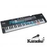 Αρμόνιο Synthesizer 61 Πλήκτρων με Stereo Ήχο, Αυτόματες Συγχορδίες & Μικρόφωνο KARAOKE