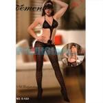Ολόσωμο Sexy Καλσόν με Σχέδια, Ανοιχτή Πλάτη & Εντυπωσιακό Μπούστο S-1021 - Sexy Lingerie