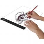 LED Πάνελ Φωτισμού για Σχεδίαση & Ζωγραφική USB - Tablet Ακρυλικό για Ξεπατικωτούρα Light Pad