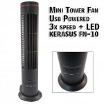 Φορητός USB Ανεμιστήρας Πύργος Mini Tower Fan KERASUS FN10