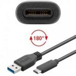 Καλώδιο USB 3.1 C SuperSpeed σε USB 3.0, 1m. GOOBAY