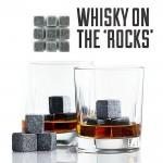 Παγάκια Whisky Stones Που δεν λιώνουν ΠΟΤΕ - Σετ 9 τεμαχίων