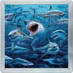 Τρισδιάστατο Μαγνητικό Πάζλ με Καρχαρίες