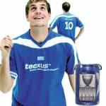 Φορτιστής Tecxus + T-Shirt στα χρώματα της εθνικής ομάδας