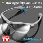 Γυαλιά Ηλίου - Οδήγησης με Αισθητήρα Αφύπνισης και Ισχυρό Φακό LED