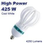 Ισχυρότατος Λαμπτήρας Οικονομίας E27 Spiral  425W (85W) COOL 8500K