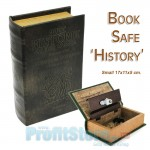 Βιβλίο Χρηματοκιβώτιο Ασφαλείας με Ανάγλυφο Πολυτελές Δέσιμο - Book Safe History