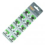Μπαταρία Microcell Αλκαλική AG8 - LR1120, 391, SR1120 - Σετ 10 Τεμαχίων