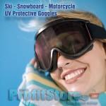 Προστατευτικά Γυαλιά - Μάσκα για Σκιέρ και Μοτοσυκλετιστές - Ski UV Goggles